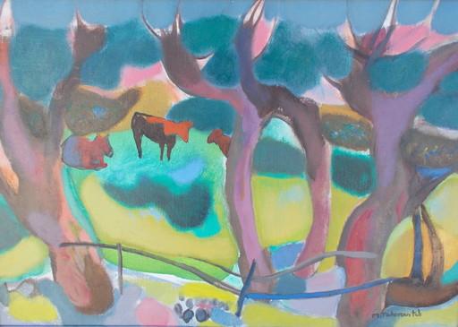 Miloje TODOROVITCH - Pintura - Les vaches