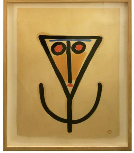 Albert CHUBAC - Disegno Acquarello - 213 Z