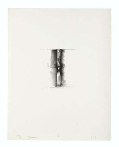 Jim DINE - Print-Multiple - Fork