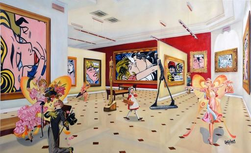 GULLY - Pintura - Musée