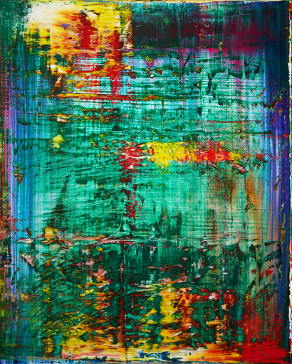Harry James MOODY - Peinture - Abstract green No.423