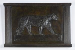 Paul JOUVE - Sculpture-Volume - Lionne