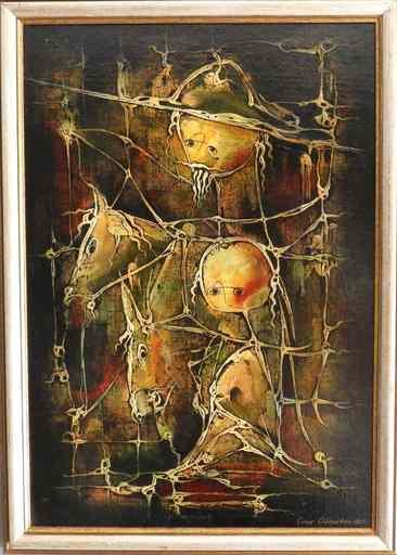 Omar CHKHAIDZE - Painting - Don Quixote
