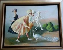 Vahram DAVIDIAN - Peinture - The white day