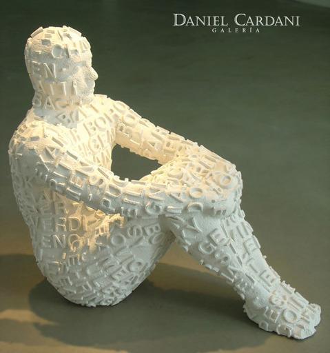 乔玛·帕兰萨 - 雕塑 - Self Portrait