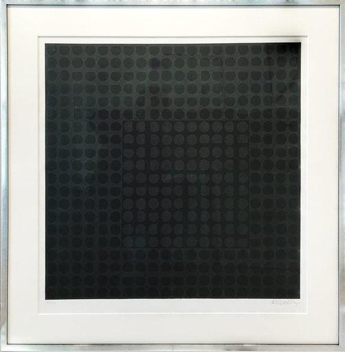 Victor VASARELY - Print-Multiple - Carmi Noir