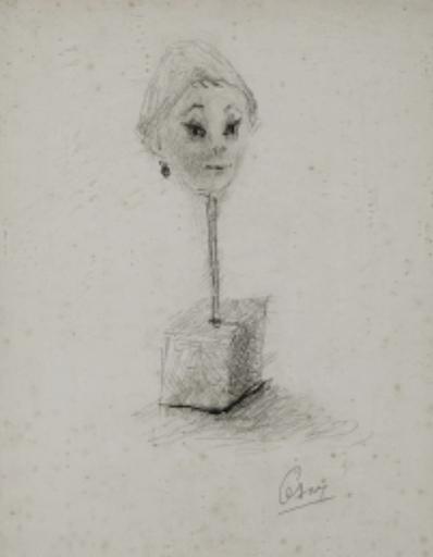 CÉSAR - Painting - Portrait de Guliana