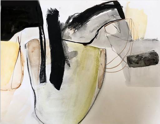 Irene NELSON - Gemälde - Quarantine #6 (Abstract painting)