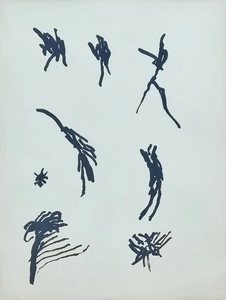 Henri MICHAUX - Dessin-Aquarelle - Mouvements
