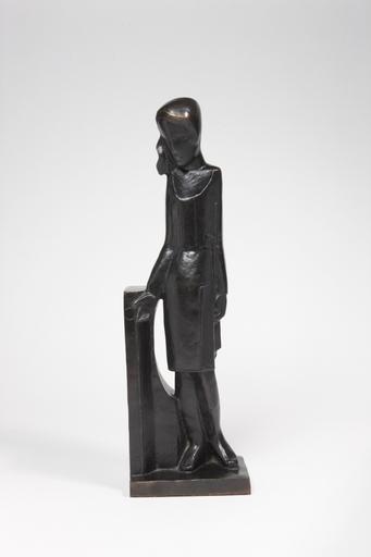 Joseph CSAKY - Sculpture-Volume - Femme à L'Architecture, dite aussi L'Architecture