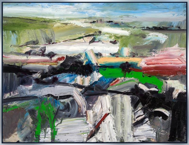 Simon ANDREW - Painting - Late Snowfall