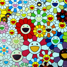 Takashi MURAKAMI (1962) - Flowers Blossoming in This World and the Land of Nirvana