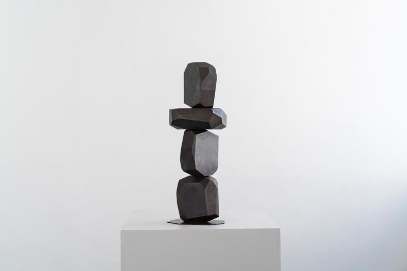Arik LEVY - Sculpture-Volume - MicroRockFormationBronze 004