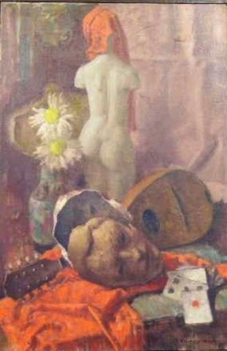 Béla KONTULY - Pintura - Still Life