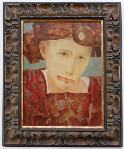 Nicholas BUHALIS - Pittura - Self Portrait