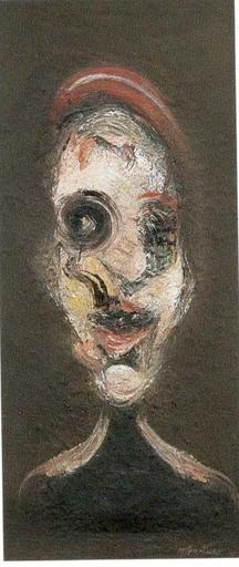 Marco GURTNER - Pintura - Figura con basco rosso