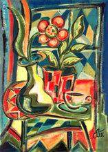Jacqueline DITT - Peinture - Stilleben (Still Life)