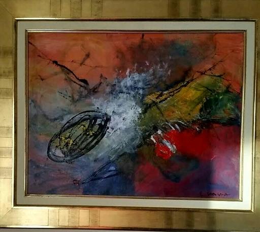 Ewa SADOWSKA - Gemälde - Kometa