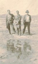 Martín CHAMBI - Fotografia - Cusco -Peru (three men with puddle)