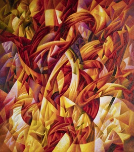 Ivan TURETSKYY - Painting - Fiery Touch