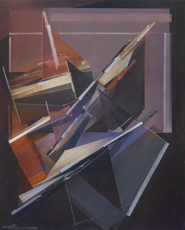Augustine KOFIE - Painting - Jammed on it