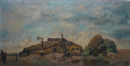 Issachar Ber RYBACK - Painting - Fields of Kherson