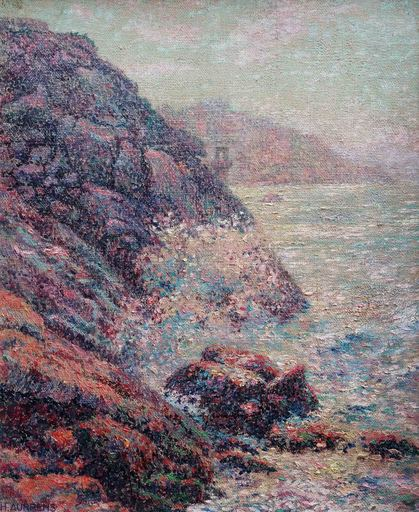Henri AURRENS - Painting - La vague