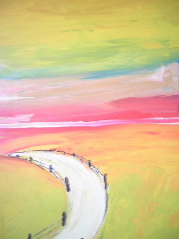Thierry DEROYANT - Peinture - Le Chemin