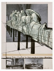 "CHRISTO - Print-Multiple - Aegena Temple Project for ""Die Glypotek"""