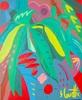 Sébastien COUEFFIC - Pittura - les fleurs sauvages 9