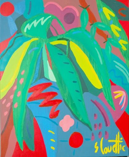 Sébastien COUEFFIC - Painting - les fleurs sauvages 9