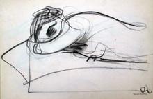 Paolo AMBROSIO - Disegno Acquarello - Figura