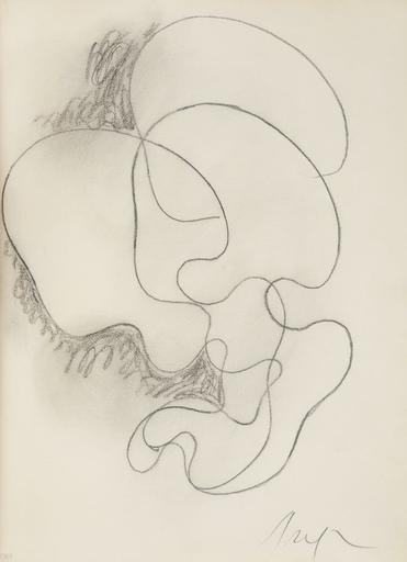 Hans ARP - Drawing-Watercolor - Sans Titre