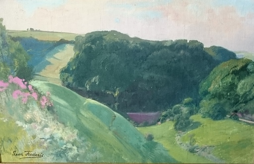 Léon FREDERIC - Pintura - landschap nr 4
