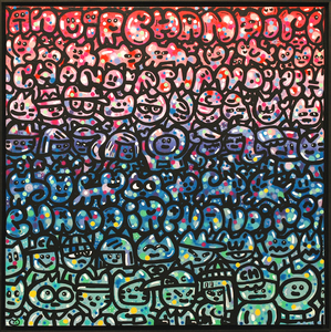 CHANOIR - Gemälde - Monde De Chas Bubble