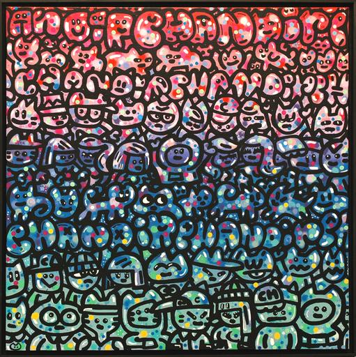 CHANOIR - Painting - Monde De Chas Bubble
