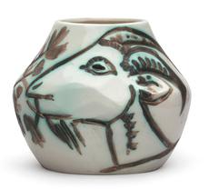 Pablo PICASSO - Cerámica - Vase aux chèvres