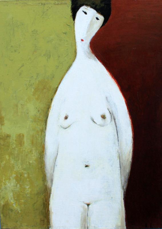 Ramaz ROSTOMASHVILI - Painting - Nude # 33