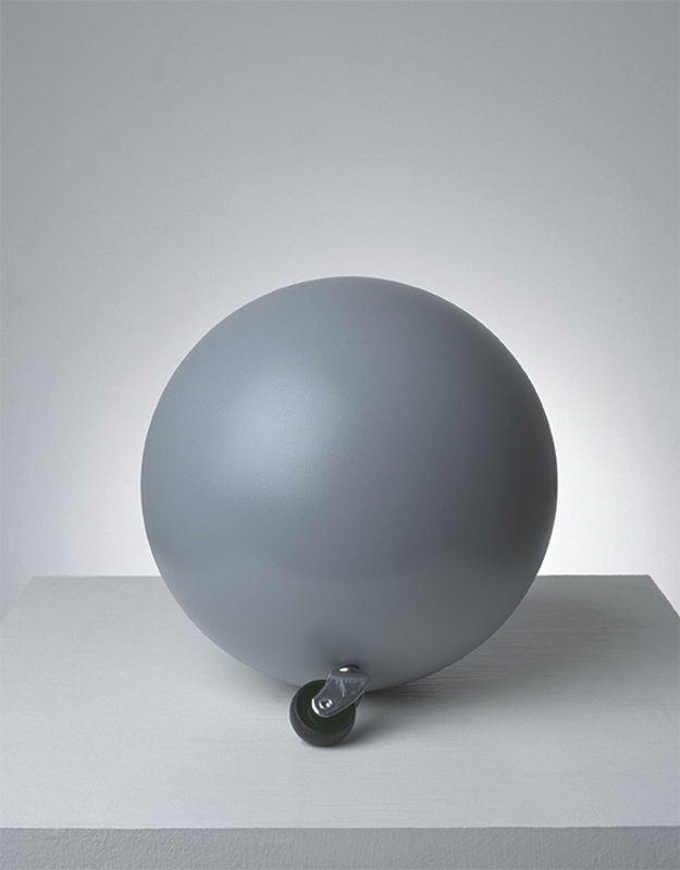 Tom DALE - Sculpture-Volume - Ball with Wheel