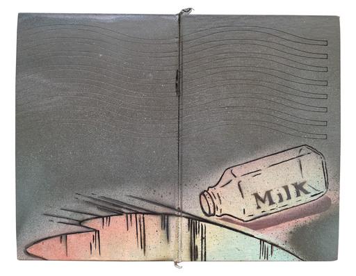 Marie AMANDA - Peinture - Split Milk