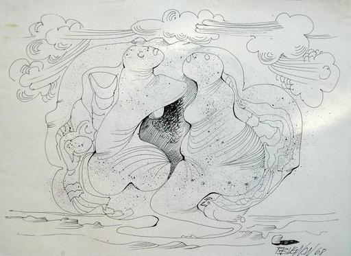 Roland BUGNON - Dessin-Aquarelle