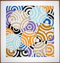 Antonio ASIS - Print-Multiple - interferences cercles de couleurs