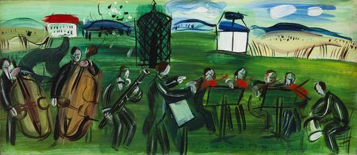 Raoul DUFY - Gemälde - L'orchestre en plein air