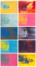 Andy WARHOL - Stampa Multiplo - Electric Chairs Portfolio