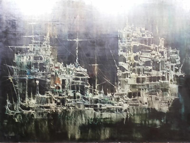 Urbano LUGRIS VADILLO - Pintura - Barco