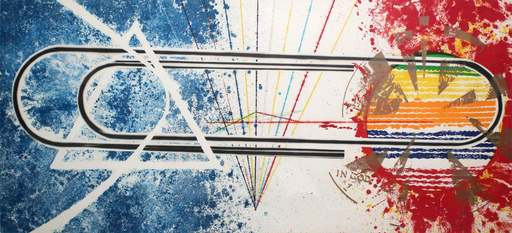 James ROSENQUIST - Print-Multiple - Cold rolled