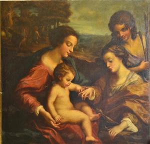 Henri-Théodore FANTIN-LATOUR, le mariage mystique de Ste Catherine