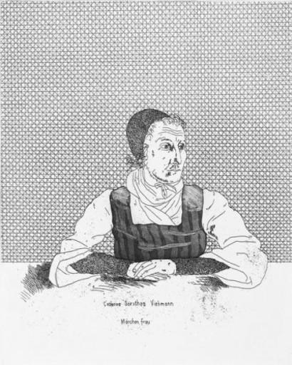 David HOCKNEY - Print-Multiple - Catharina Dorothea Viehman