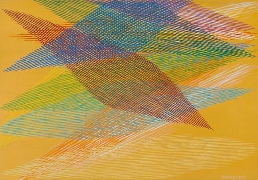 Piero DORAZIO - Peinture - SENZA TITOLO