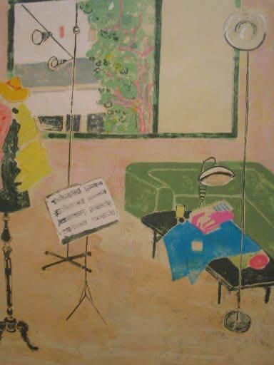 Gilles GORRITI - 版画 - L'Atelier,1990